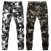 Work Camoflauge Army Hot Men Patch Joggers
