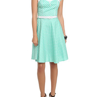 Hell Bunny Mint Melanie Dress