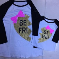 In Stock- Mommy and me Best Friend shirts