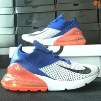 Free shipping-Nike Air Max 270 mesh air cushion running shoes step shoes #1