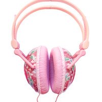 Electric Alice — Swimmer Strawberry Gingham Headphones
