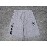 Converse 2019 new men and women models breathable casual shorts grey