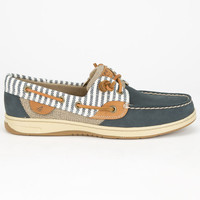 Sperry Top-Sider Bluefish Womens Boat Shoes Navy  In Sizes