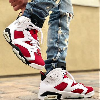 Jordan 6 new couple casual basketball sneakers