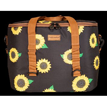 Large Cooler Sunflower - S20 - Simply Southern