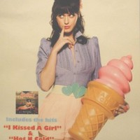 Katy Perry - One of the Boys (Ice Cream) - Original Poster - 11x17 Inches
