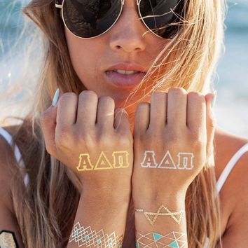 Alpha Delta Pi Tattoo Set