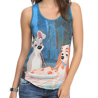Disney Lady And The Tramp Girls Tank Top
