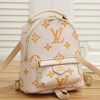 LV Louis Vuitton Fashion Backpack Leather Bag large Capacity Backpack Daypack