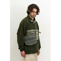 Canvas Sacoche in Olive