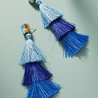 Cha Cha Tassel Drop Earrings