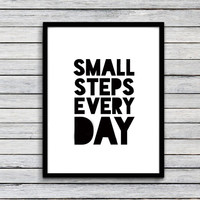 Inspiration Quote Canvas Art Print Painting Poster, Wall Pictures for Home Decoration, Wall decor FA258