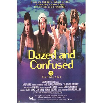Dazed and Confused Movie Poster 24x36
