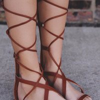 Wild Child Sandals - Whiskey