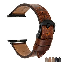 Watch Accessories Genuine Leather For Apple Watch Band