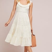 Belle Tiered Midi Dress