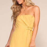 Sandy Lane Romper - Honey