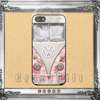 Rose, Floral, VW mini bus, iPhone 5s case iPhone 5C Case iPhone 5 case iPhone 4 Case iPhone Samsung Galaxy S4 case Galaxy S3 ifg-51073