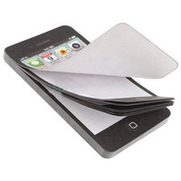 New Arrival Sticky Post It Note Paper Cell Phone Shaped Memo Pad Gift Office Supplies Drop