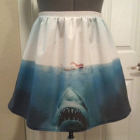 Jaws inspired shark full skirt made to order by NerdAlertCreations