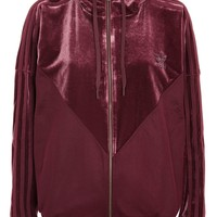 Velour Track Top by adidas Originals - New In Fashion - New In