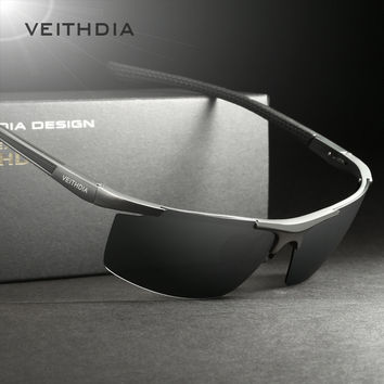 New Veithdia  8282 Mens Sunglasses Brand Polarized (Multi Color)