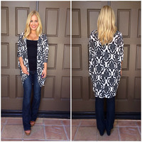 Darling Damask Cardigan