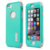"""New For Apple iPhone 6 4.7"""" Protect Case Cover Slim Hybrid Dual Layer Shockproof TPU Hard Phone Cases w/Screen Protector+Pen"""