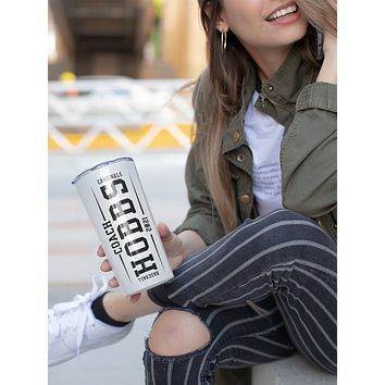 Personalized Baseball Tumbler Water Bottle Stainless Steel With Straw Vacuum Lid Your Team Custom Mom Dad Baseball Coach