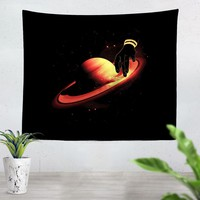Saturntable Tapestry