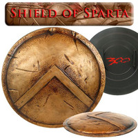 Shield of Sparta - Authentic Replica From the Movie 300