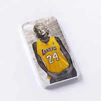 Marilyn Monroe, Lakers 24, Kobe Bryant iPhone 4/4S, 5/5S, 5C,6,6plus,and Samsung s3,s4,s5,s6