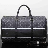 Tagre™ Louis Vuitton Travel Bag Leather Tote Handbag Shoulder Bag