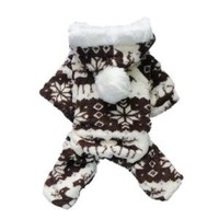 Petparty Dog Hoodie for Dog Coat Dog Jumpsuit Cozy Fashion Dog Clothes Pet Clothes ,M