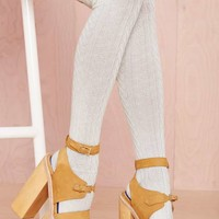 High and Fly Socks - Ivory