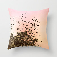 freedom Throw Pillow by Marianna Tankelevich   Society6