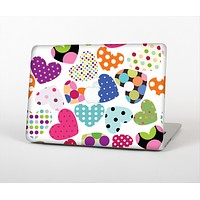 """The Colorful Polkadot Hearts Skin for the Apple MacBook Air 13"""""""