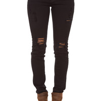 Forget Me Not Distressed Pants