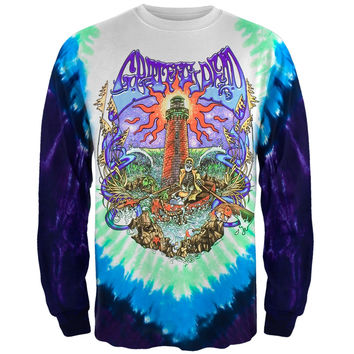 Grateful Dead - Watch Tower Tie Dye Long Sleeve T-Shirt