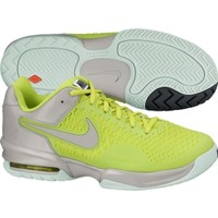 Nike Women's Air Max Cage Tennis Shoe - Volt/Grey | DICK'S Sporting Goods