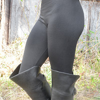 Back To Basics Leggings: Black - One
