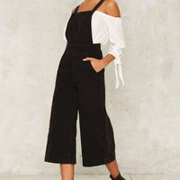 Zee Gee Why Kick Culotte Overalls