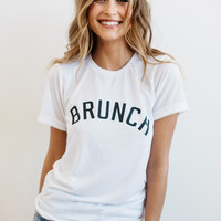 Private Party || Brunch tee in white