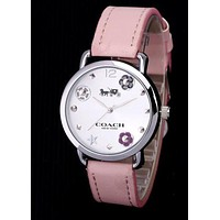 COACH new tide brand men and women models quartz watch 4
