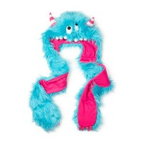 Hooded Monster Scarf | Claire's