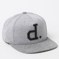 Diamond Supply Co Crown Snapback Hat - Mens Backpack - E. Heather Grey - One