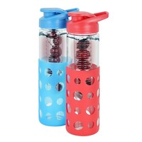 Modernhome 2-pc. 17-oz. Fruit-Infused Glass Water Bottle Set (Natural)