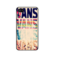 Floral vans pattern iPhone 4 Case iPhone 5/ 5s/ 5c ipod touch 4 5 Case Samsung Galaxy S2 S3 S4 case note 2 3 hard case cover