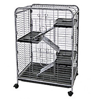 WARE® Indoor Hutch 4 Level Small Animal Cage
