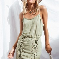 Nora Lace Up Dress - Dresses by Sabo Skirt